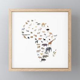 Wild Africa Framed Mini Art Print