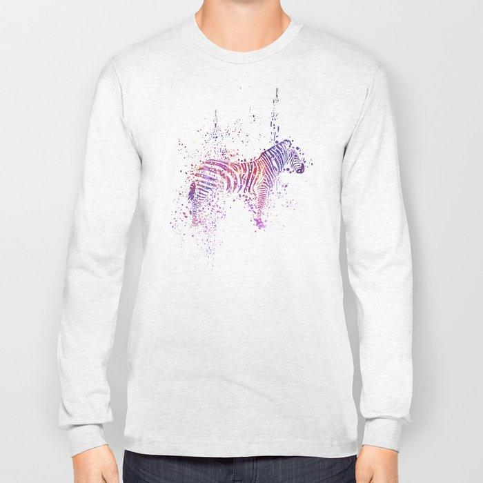 Cosmic Zebra Long Sleeve T-shirt