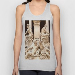 Beautiful Sculptures #decor #society6 Unisex Tank Top