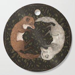 Foxes Cutting Board