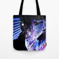 vertigo Tote Bags featuring Vertigo by Danielle Tanimura