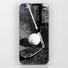 The golf club iPhone Skin