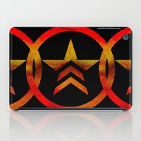 mass effect iPad Cases featuring Mass Effect Renegade by foreverwars