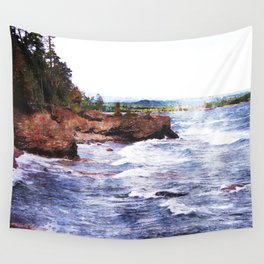 Upper Peninsula Landscape Wall Tapestry
