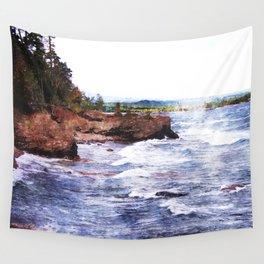 Upper Peninsula Landscape Wall Tapestry