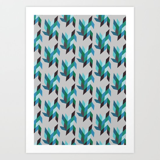 running water Art Print