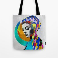 pop art Tote Bags featuring Pop by Steve W Schwartz Art