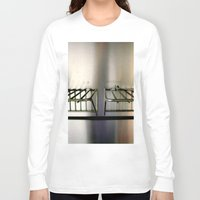 metal Long Sleeve T-shirts featuring Metal On Metal by oneofacard
