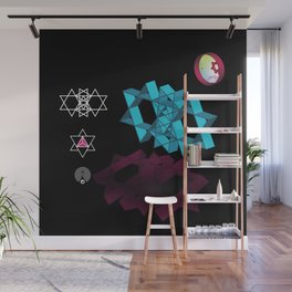 The Dimension Wall Mural