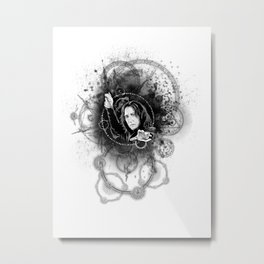 Severus - Magic Circles Metal Print
