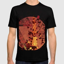 Polygons of a Photograph T-shirt