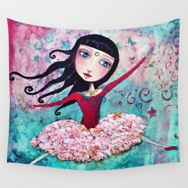 Free Dancer Wall Tapestry