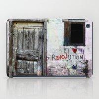revolution iPad Cases featuring rEVOLution by Bärdie D/Sign