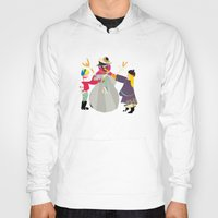 snowman Hoodies featuring Snowman by Design4u Studio