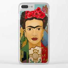 Bandera Frida Clear iPhone Case