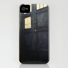 Doctor Who: Time and Relative Dimension in Space iPhone (4, 4s) Slim Case