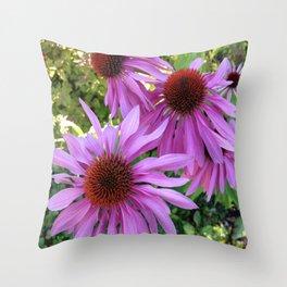 Purple Splender Throw Pillow