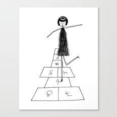 Hopscotch Canvas Print
