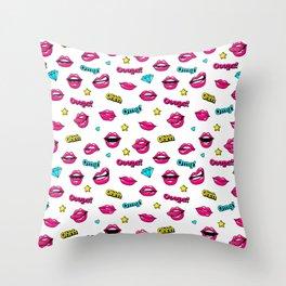Ooops! It's pop art! Throw Pillow