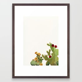 Cactus Garden II Framed Art Print