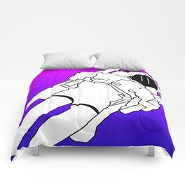 Bisexual Space Explorer Comforters