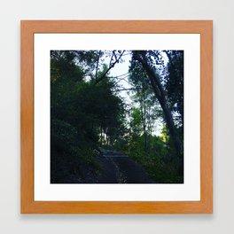 Behind Your House Framed Art Print