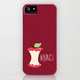 A apple a day... iPhone Case