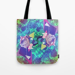 Tiger in abstraction 2 Tote Bag