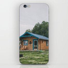 Moose Cabin iPhone Skin