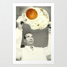 Weird radiography Art Print