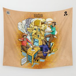 The Fantastic Craft Coffee Contraption Suite - The Fantastic Craft Coffee Contraption Wall Tapestry
