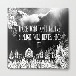 Believer Metal Print