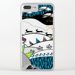 Sumptuous Africa Clear iPhone Case