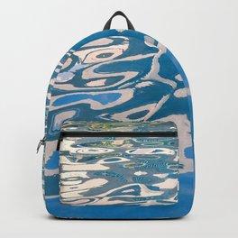 Breathtaking Fine Art / Abstract Glistening Ocean Waters Backpack