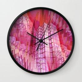 illusory city life -06- Wall Clock