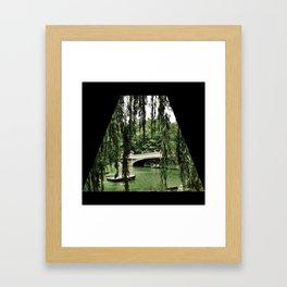 A Ride Through Central Park Framed Art Print