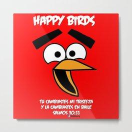 HappyBirds Metal Print