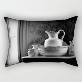 Victorian Washstand Rectangular Pillow