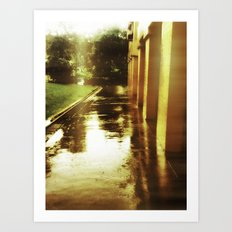Rainsoaked Art Print