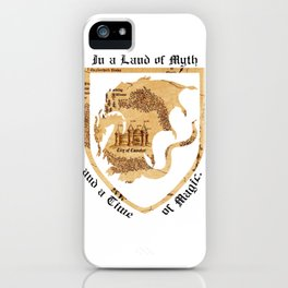 For the Love of Camelot iPhone Case