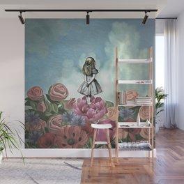 Wondering Alice Wall Mural