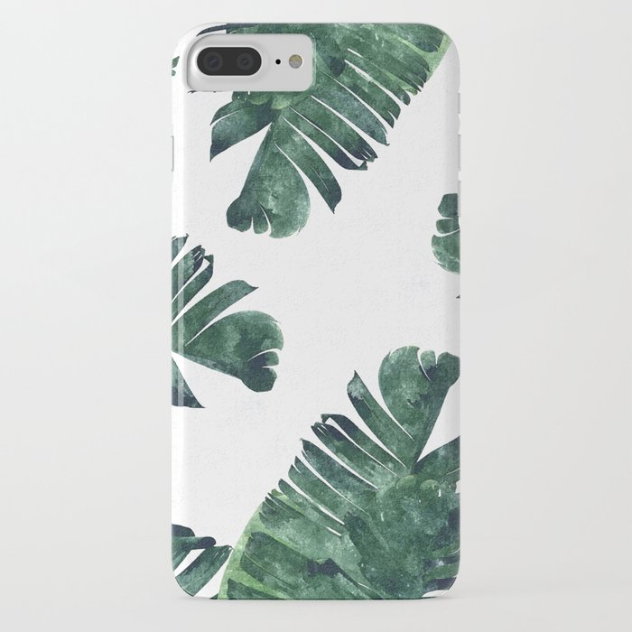 banana leaf watercolor #society6 #buy #decor iphone case