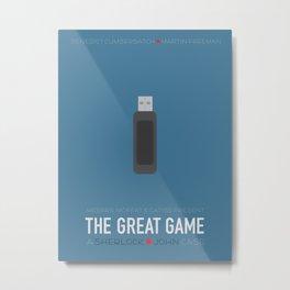 The Great Game Metal Print