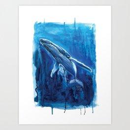 Ocean Guardian Art Print