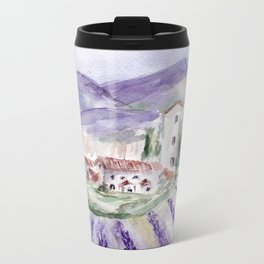 Provence Metal Travel Mug