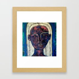 Pondering Dreams - It is all an illusion Painting by Robert EROD artist art Framed Art Print