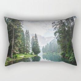 moody landscape Rectangular Pillow