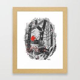 The Story Tree Framed Art Print