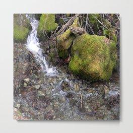 Rushing waters... Metal Print