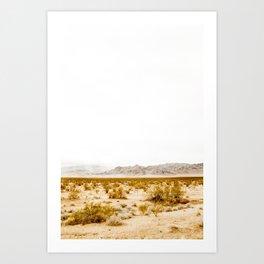 -hot desert- Art Print